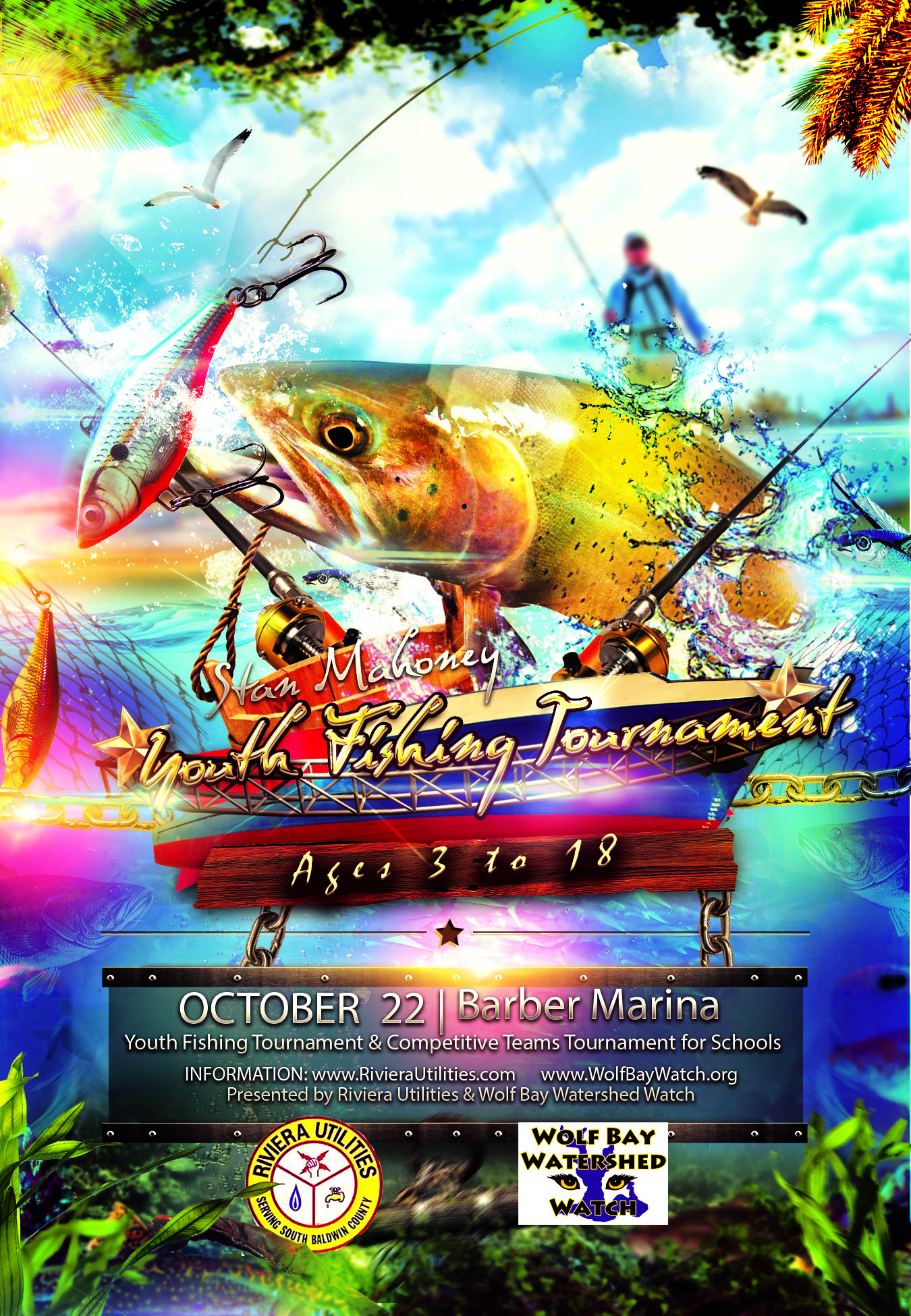 Fishing Tournament Flyerhires